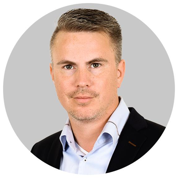Sebastian Wallius, ansvarig för teknik och systemintegrationer på Siphra